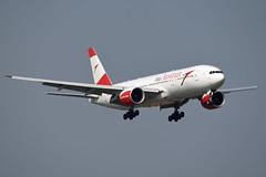 Austrian Airlines Boeing 777-2Z9(ER) OE-LPD (EK056) Tags: austrian airlines boeing 7772z9er oelpd bangkok suvarnabhumi airport