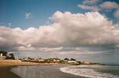 rain break (peaceblaster9) Tags: ocean sea beach shore clouds sky santacruz california film konicac35 fujicolorc200 海 雲 海岸 砂浜 ビーチ フィルム フィルムカメラ フィルム写真 コニカ