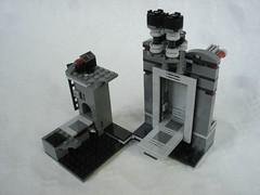 75229 - finished setting (fdsm0376) Tags: lego set review 75229 death star escape wars leia princess organa luke skywalker stormtrooper mouse droid