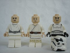 75229 - figs no headgear (fdsm0376) Tags: lego set review 75229 death star escape wars leia princess organa luke skywalker stormtrooper mouse droid