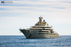 Dilbar - 156m - Lurssen (Raphaël Belly Photography) Tags: rb raphaël monaco raphael belly photographie photography yacht boat bateau superyacht my yachts ship ships vessel vessels sea motor mer m meters meter dilbar 156m 156 lurssen lürssen beige crème cream white blanc bianco imo 9661792 mmsi 319094900