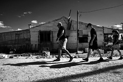 souvenir hunters (gro57074@bigpond.net.au) Tags: stphotographia souvenirs 2019 april guyclift derelict store contrasts shadows afternoon f130 2470mmf28 tamron d850 nikon street people streetphotography candid yellowfilter blackwhite bw outback countrynsw lightningridge