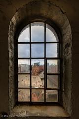 Window (schda22) Tags: germany hamburg fenster window view blick gitter hafencity harbour speicherstadt weltkulturerbe elbphilhamonie elphie tour canon benro haida