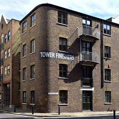 Tower Finishers / SE1 (Images George Rex) Tags: london southwark uk victorian architecture residential millstreet wolseleystreet bermondsey brick ghostsign towerfinishers england unitedkingdom britain imagesgeorgerex photobygeorgerex igr