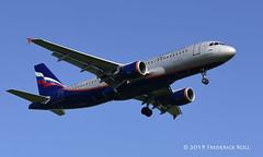 Aeroflot A320 ~ VP-BKC (© Freddie) Tags: londonheathrow poyle heathrow lhr egll 09l arrivals aeroflot airbus a320 vpbkc named ikruzenshtern skyteam fjroll ©freddie