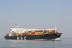 MSC SANTHYA (angelo vlassenrood) Tags: ship vessel nederland netherlands photo shoot shot photoshot picture westerschelde boot schip canon angelo baalhoek cargo container mscsanthya
