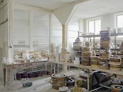 Porcelain factory (soho42) Tags: mamiya645protl kodakportapro400 abandoned porcelain urbanexploration urbex industry