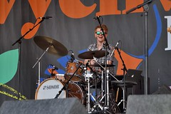 137-20180602_14th Wychwood Music Festival-Cheltenham-Gloucestershire-Main Stage-Harpers Ferry-drums (Nick Kaye) Tags: wychwood music festival cheltenham gloucestershire england