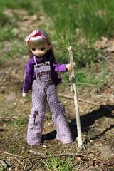 Die Wanderin... (Ninotpetrificat) Tags: mamachapp mamachapptoy manga anime asiandoll obitsu wanderung doll dollclothes japandoll japantoys juguete muñeca puppe excursión cute kawaii toys