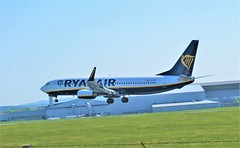 DSC03954 (richellis1978) Tags: ema east midlands airport airliner aeropark airplane aeroplane boeing 737 ryanair 800 737800 eieky