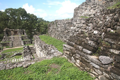 Mayan Temple Ruins Of Palenque (peterkelly) Tags: digital northamerica canon 6d gadventures mayandiscovery mexico chiapas palenquenationalpark lakamha templeofthecross templexiv mayan maya ruins stone temple stairs steps