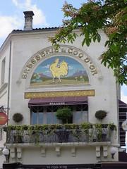 Brasserie du Coq d'Or (1906) - 33 place François 1er, Cognac (16) (Yvette G.) Tags: brasserie restaurant cognac 16 charente poitoucharentes nouvelleaquitaine architecture belleépoque artnouveau