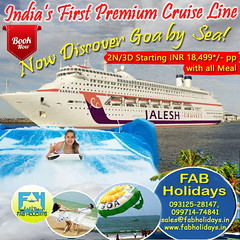 ●🐳🐳 It's Time for a New Adventure with India's First Premium Cruise Line!!🐳🐳 (fabholidays) Tags: