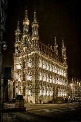 Leuven (Geert E) Tags: leuven louvain stadhuis mairie hdr cityhall nachtfotografie nightphotography