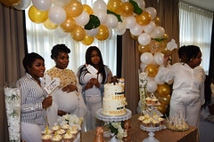 DSC_6840 (photographer695) Tags: tricia baby shower the hilton hotel docklands london pregnant lady girl beautiful delightful stunning