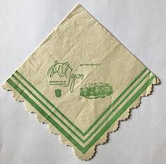 HOTEL TEJON BAKERSFIELD CA (ussiwojima) Tags: hoteleltejon hotel bakersfield california advertising napkin