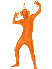 second skin orange suit (fancypandauk) Tags: fancydresscostumes costume fancy dress cheapfancydress second skin suit