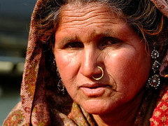 Sindoor Ma. (Prabhu B Doss) Tags: prabhubdoss travelphotography kumbh kumbhmela prayagraj woman lady market nosering portrait india
