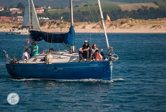 DSC05688 (Jesús Hermosa) Tags: 75300mm agua bahia barco bay cantabria españa gente mar people sail sailboat sailing santander sea ship sonya200 sonyalpha spain velero water