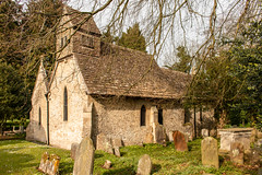 Church of St Peter, Calne Without. (Keith now in Wiltshire) Tags: church calne quemerford wiltshire chapel stone slate ballcote graveyard tombstone gravestone crypt window tree grass