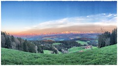 Incredible Alps Panorama (Anselm11) Tags: alps alpen alpenpanorama sonnenuntergang berge emmenthal