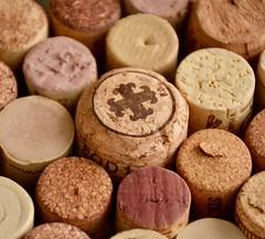 Macro Mondays - Bottle Cap (Kreative Capture) Tags: macromondays bottlecap wine cork many bunched together craft nikkor nikon macromonday