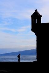 save place (Wackelaugen) Tags: castle silhouette puertodelacruz tenerife teneriffa spain europe canaries canaryislands canaryisles canon eos 760d photo photography stephan wackelaugen