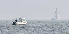 Gone fishing!!! (philbarnes4) Tags: fishing relaxing sailing broadstairs thanet kent england nikon nikond5500 fish yacht philbarnes mist seamist water sea coast coastal