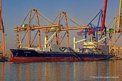 E. R. SANTIAGO - IMO 9160437 (Socaire) Tags: ersantiago imo9160437 ship scrapped containership valenciaport alang