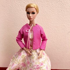 New Pink Dress for Poppy Parker or Barbie MTM (jenniffervalverde) Tags: poppyparker momoko barbie mtm bigeyes madetomove