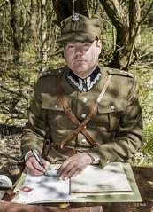 Crich 1940s Weekend 2019 pic7 (walljim52) Tags: crichtramwayvillage crich derbyshire 1940s event actor reenactor wartime ww2 soldier civilian military uniform costume