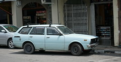 Toyota Corolla Station Wagon (Mark 800) Tags: borneo malaysia car toyota corolla station wagon