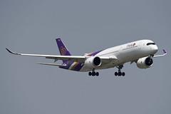 Thai Airways Airbus A350-941 HS-THM (EK056) Tags: thai airways airbus a350941 hsthm bangkok suvarnabhumi airport