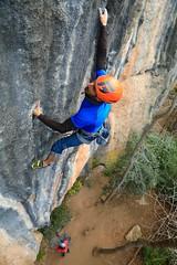 Bergueda climbing limestone (jordimasramon) Tags: nature landscape outdoor eos5dmarkiv eos5div eos canon mountaineering mountain catalonia catalunya bergueda berga arrampicata grimper escalada climb climbing