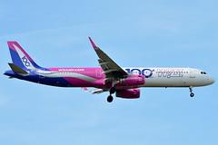 "HA-LTD Wizz Air Airbus A321-200  ""100th Airbus"" (czerwonyr) Tags: haltd wizz air airbus a321200 100thairbus fra eddf"