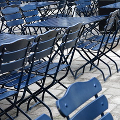 blue furniture (vertblu) Tags: blue chairs tables furniture bluefurniture outdoorfurniture gardenfurniture bsquare 500x500 vertblu structures foldingchairs foldingtables kwadrat diagonal