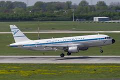D-AICH Airbus A320-212 (Retro Livery) (Disktoaster) Tags: dus düsseldorf airport flugzeug aircraft palnespotting aviation plane spotting spotter airplane pentaxk1