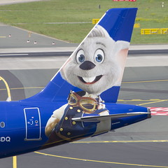 D-ABDQ Airbus A320-214 (Europa Park Livery) (2) (Disktoaster) Tags: dus düsseldorf airport flugzeug aircraft palnespotting aviation plane spotting spotter airplane pentaxk1