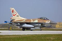 Israël Air Force F-16C 356 Andravida Airforce Base Greece Indiohos 2019 (Remco Boudewijn) Tags: 356 2019 indiohos andravida lockheed f16c airforce israël