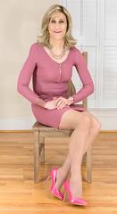 IMG_5557_f (AlexandraCollins) Tags: crossdresser crossdress crossdressing heels legs pantyhose stockings
