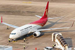 Shenzhen Airlines B737-800(WL) B-1940 001 (A.S. Kevin N.V.M.M. Chung) Tags: aviation aircraft aeroplane airport airlines plane spotting macauinternationalairport mfm boeing b737800wl b737 apron