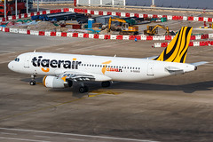 Tigerair Taiwan A320-232 B-50003 001 (A.S. Kevin N.V.M.M. Chung) Tags: aviation aircraft aeroplane airport airlines plane spotting macauinternationalairport mfm a320 apron taxing