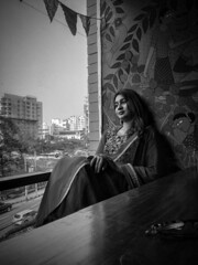 Shades of color and A girl in splash.  Potraits - Captured with my Mobilephone  #mobilephotography #potrait #women #Dhaka #Bangladesh #Mashrurenan (MashrurEnan) Tags: mobilephotography bangladesh potrait mashrurenan dhaka women