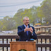"""Governor Baker speaks at the Dedication of the Holmes Dam Removal and Newfield Street Bridge Replacement • <a style=""""font-size:0.8em;"""" href=""""http://www.flickr.com/photos/28232089@N04/40704191323/"""" target=""""_blank"""">View on Flickr</a>"""