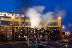 _SVG7296 (giver40 - Sergi) Tags: dresden dampflok steamlocomotive locomotora de vaporrotonda vapor steam nocturna dampfloktreffen sajonia drehscheibe