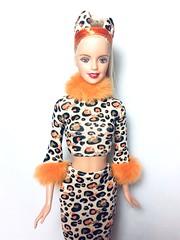 (Bubblegum18) Tags: barbie halloween mattel leopard costume