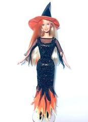 (Bubblegum18) Tags: barbie halloween mattel witch costume