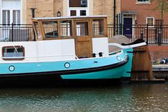 20190415 0057 Converted River Barge Diglis Basin Birmingham Canal Worcester (rodtuk) Tags: 4star boat england flipublic flickr midlands phototype places rating rodt roderict roderickt uk vehboat vehicle wip worcester worcestershire