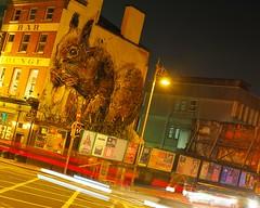 squirrel on the wall (lory.bollini) Tags: livephoto squirrel murales streetart zuiko25mmf18 omd omdem10 olympusomdem10 olympusomdem10markiii zuiko25mm olympus dublin