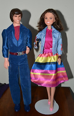 Donny and Marie (trev2005) Tags: mattel doll donny marie osmond